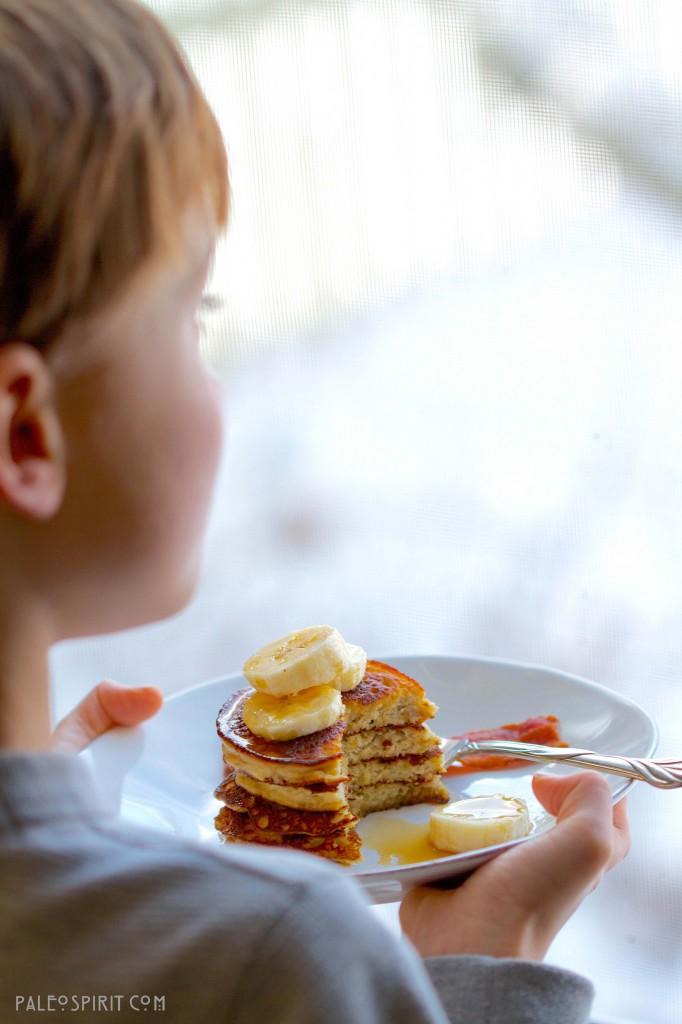 Nat with Paleo Pancakes