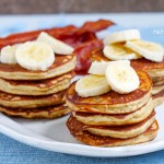 Paleo Banana Pancakes and a Day in the Snow