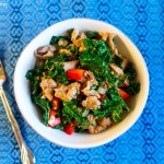 Easy Paleo Recipe: Sausage and Kale Sauté