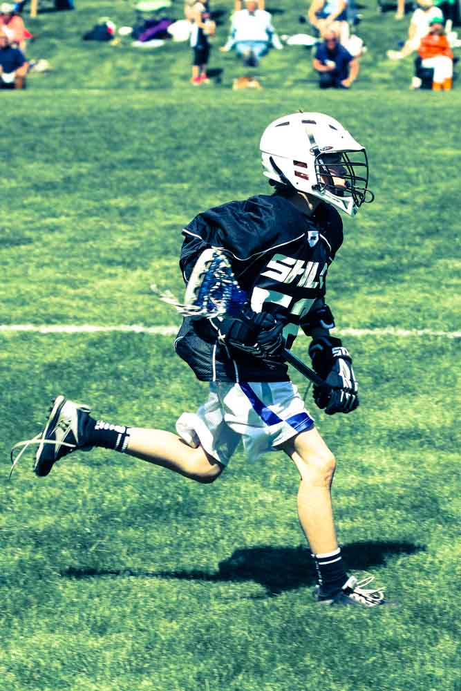 Ben running at Lacrosse