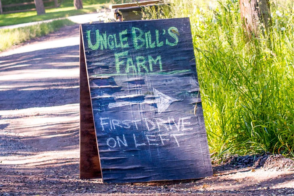 Uncle Bill's sign