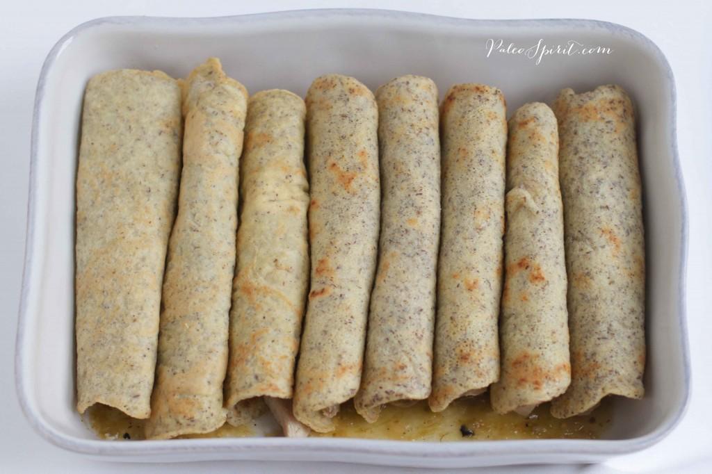 Paleo Tortillas for Chicken Enchiladas   Paleo Spirit
