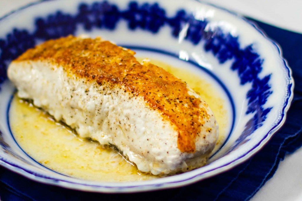 Pan-Fried Halibut | Paleo Spirit