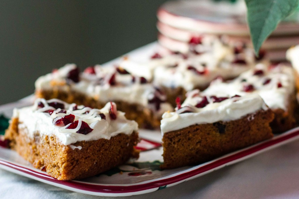 Copycat Starbucks Cranberry Bliss Bars: Paleo Spirit