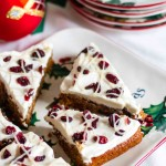 Paleo Cranberry Bliss Bars: PaleoSpirit.com
