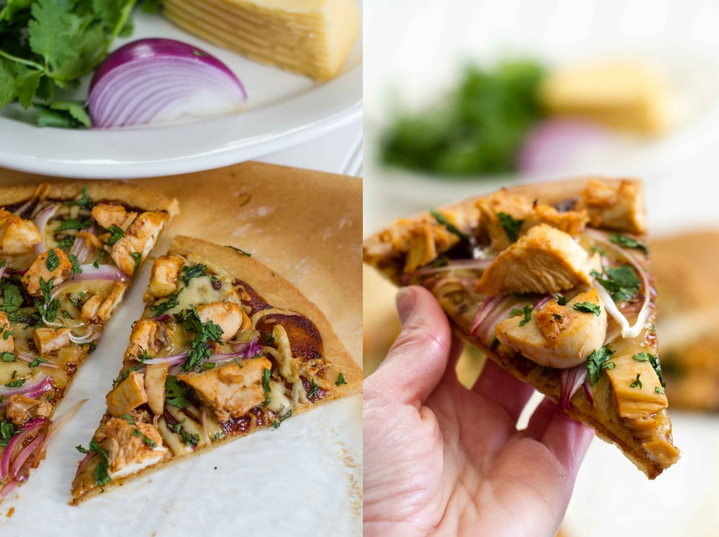 BBQ Chicken Pizza | @paleospirit