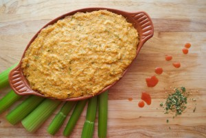 Buffalo Ranch Dip | Paleo Super Bowl Recipe
