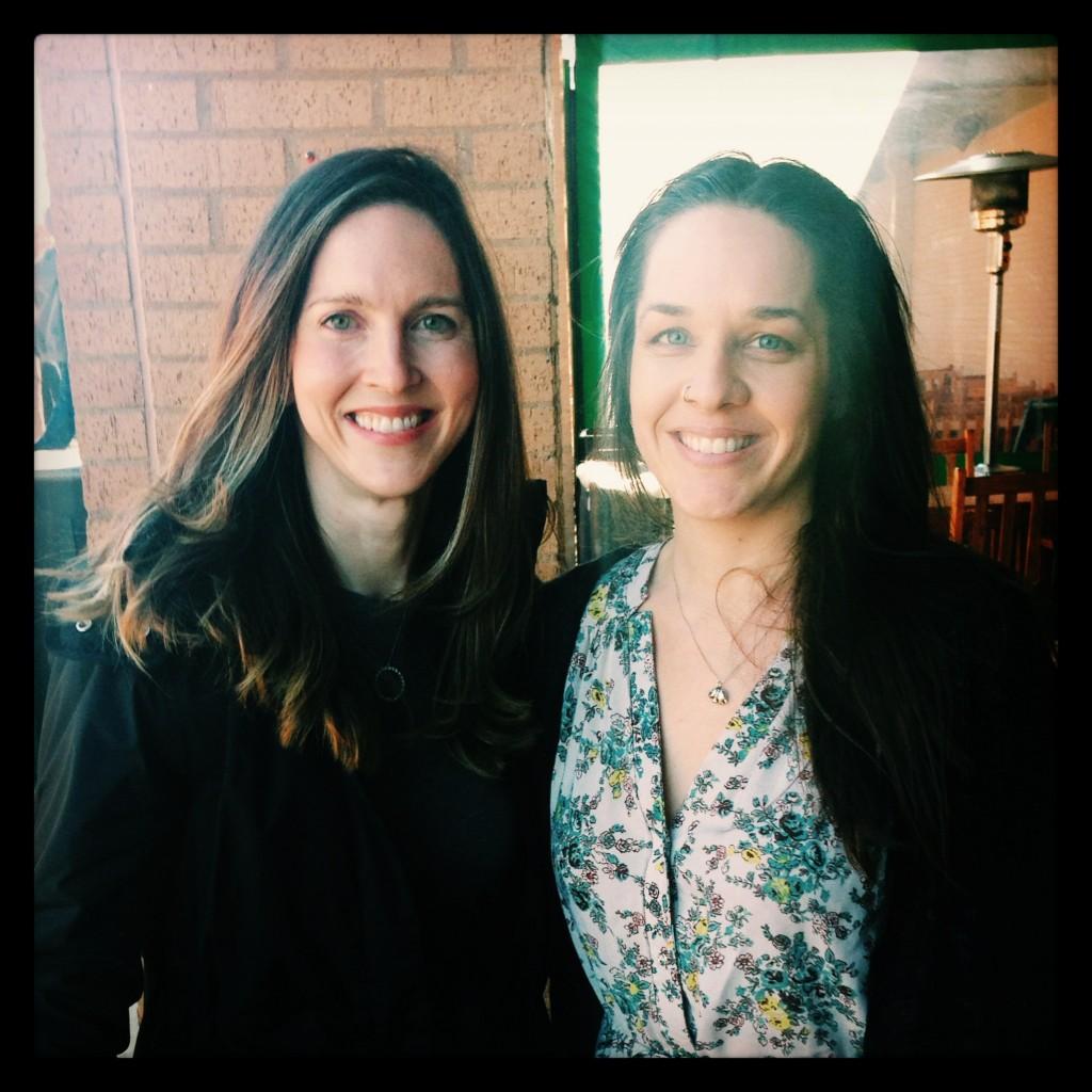 Lea Valle and Jenni Hulet