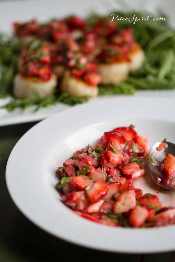 Strawberry Relish | PaleoSpirit.com