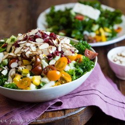 Marinated Kale Salad and A BIG Announcement