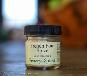 French Four Spice Recipe
