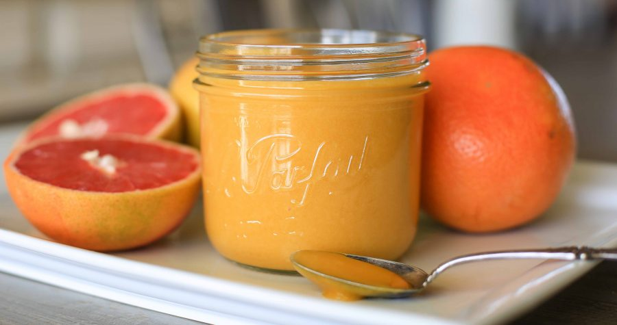 Paleo Grapefruit Curd | Paleo Spirit